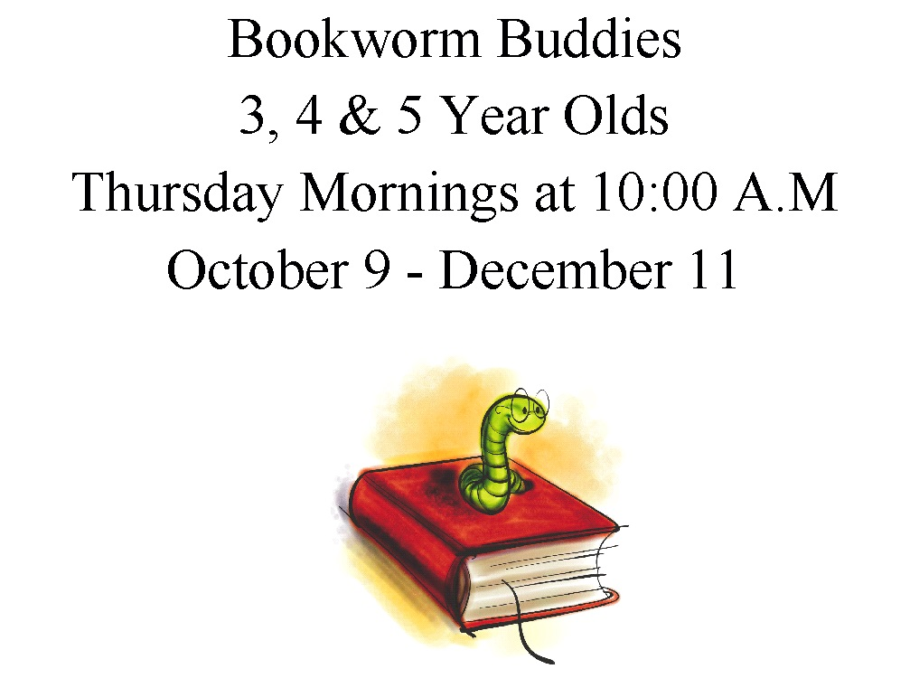 Bookworm Buddies Sign